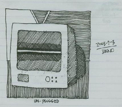 2005-7-3 sketch from journal