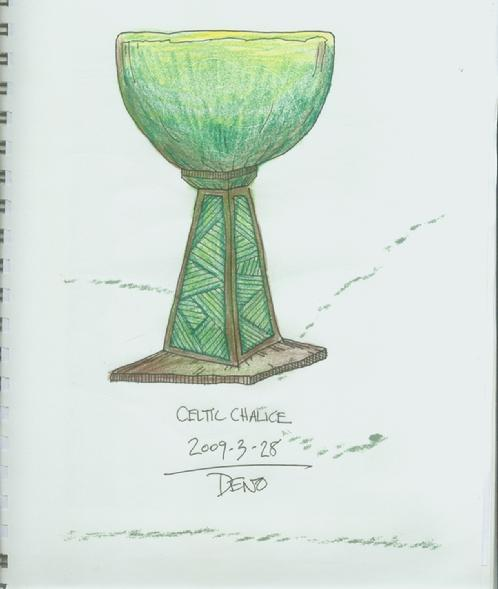 sketch for Goblet